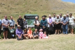 Supporters of the Whangawehi Catchment Management Group